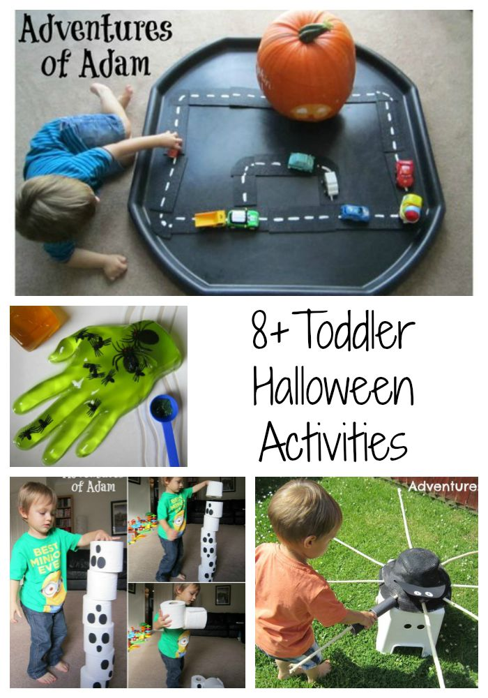 Adventures of Adam Toddler friendly Halloween activities