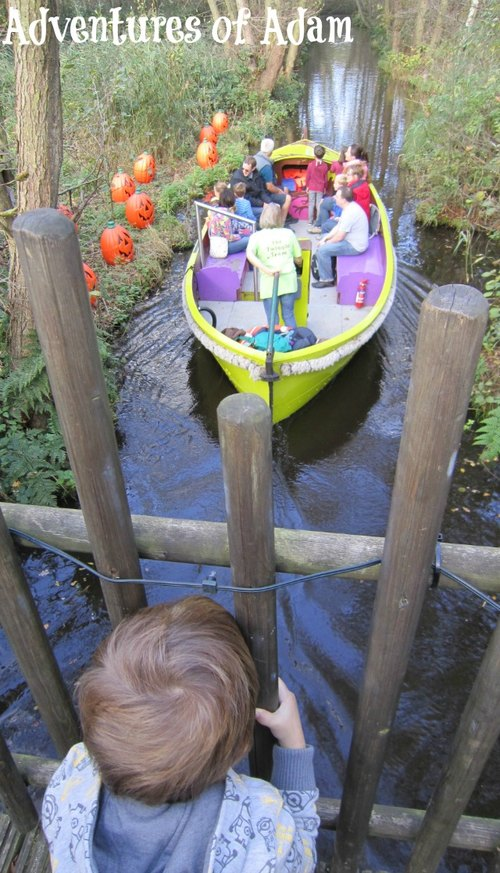 Adventures of Adam Bewilderwood boat