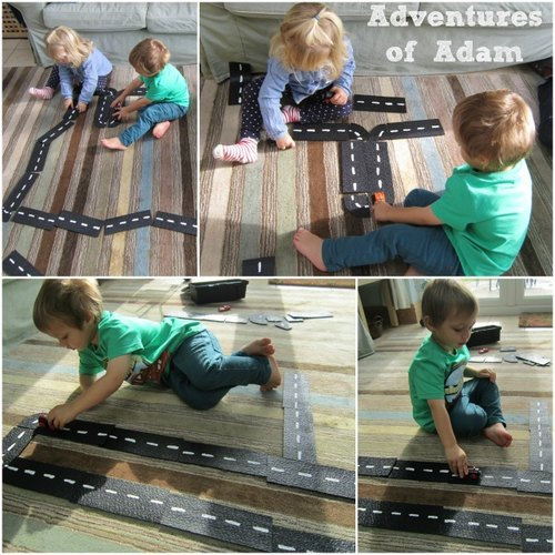 Adventures of Adam toddler car track