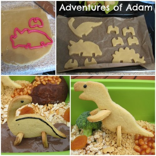 Adventures of Adam Dinosaur cookies