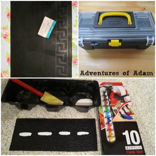 Adventures of Adam Poundland busy bag