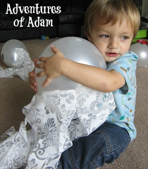 Adventures of Adam toddler Halloween activity