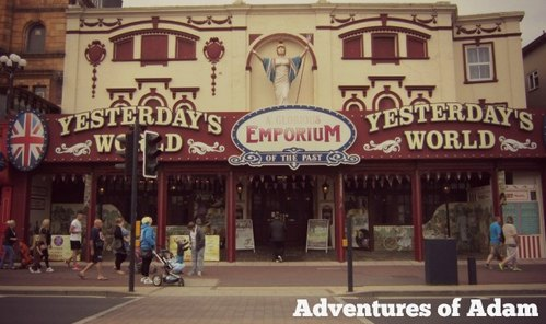 Adventures of Adam Yesterday's World Great Yarmouth