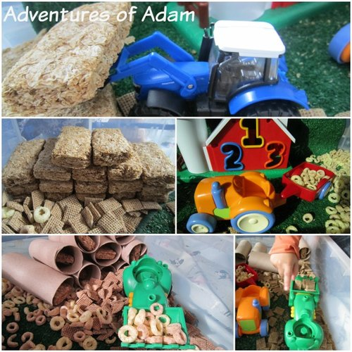Adventures of Adam farm and harvest small world