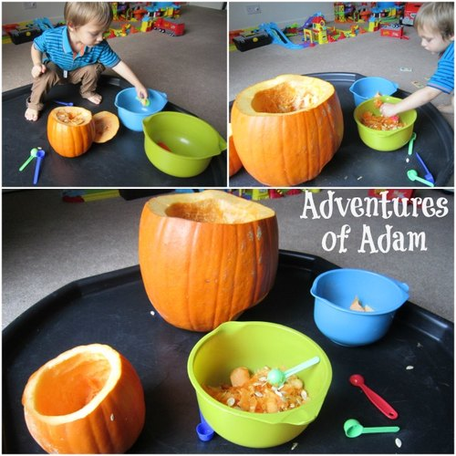 Adventures of Adam how to make a pumpkin car tunnel