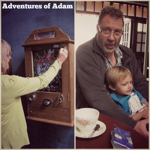 Adventures of Adam Grandparents day out Great Yarmouth
