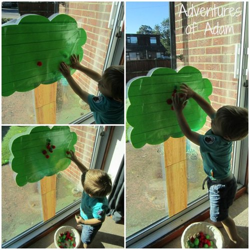 Adventures of Adam Apple toddler play