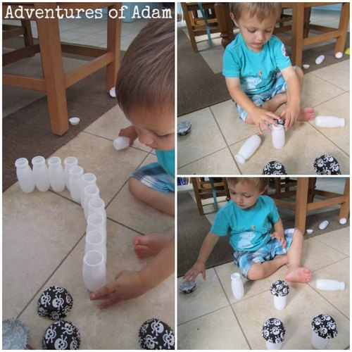 Adventures of Adam cup cake case play