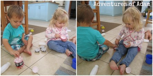 Adventures of Adam toddler team work