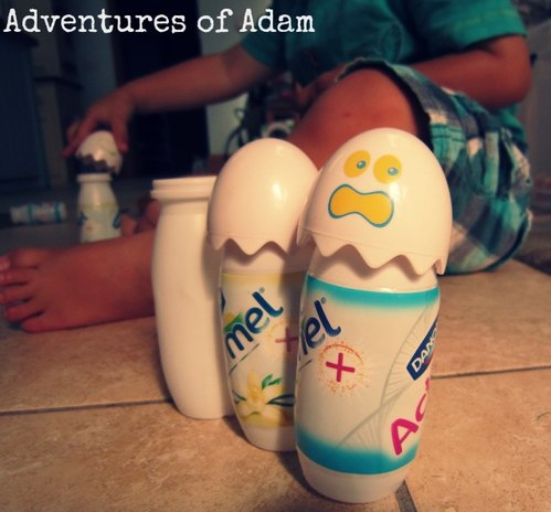 Adventures of Adam toddler initiated play