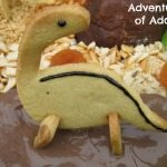 Adventures of Adam dinosaur chocolate mud