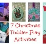 Adventures of Adam 7 Christmas toddler play activities