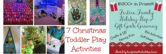 7 Christmas Toddler Play Activities