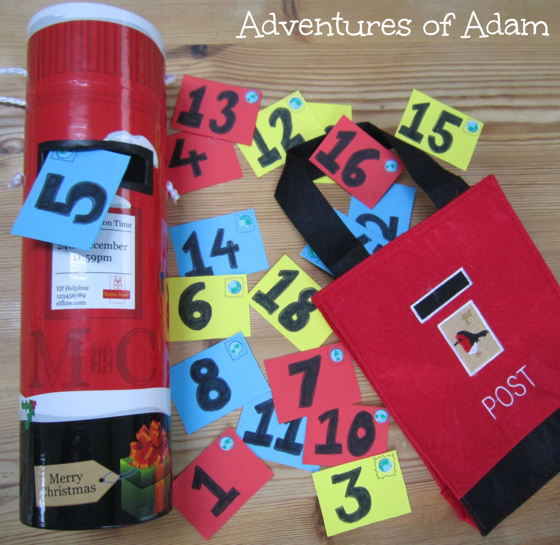 Adventures of Adam Christmas Busy Bag