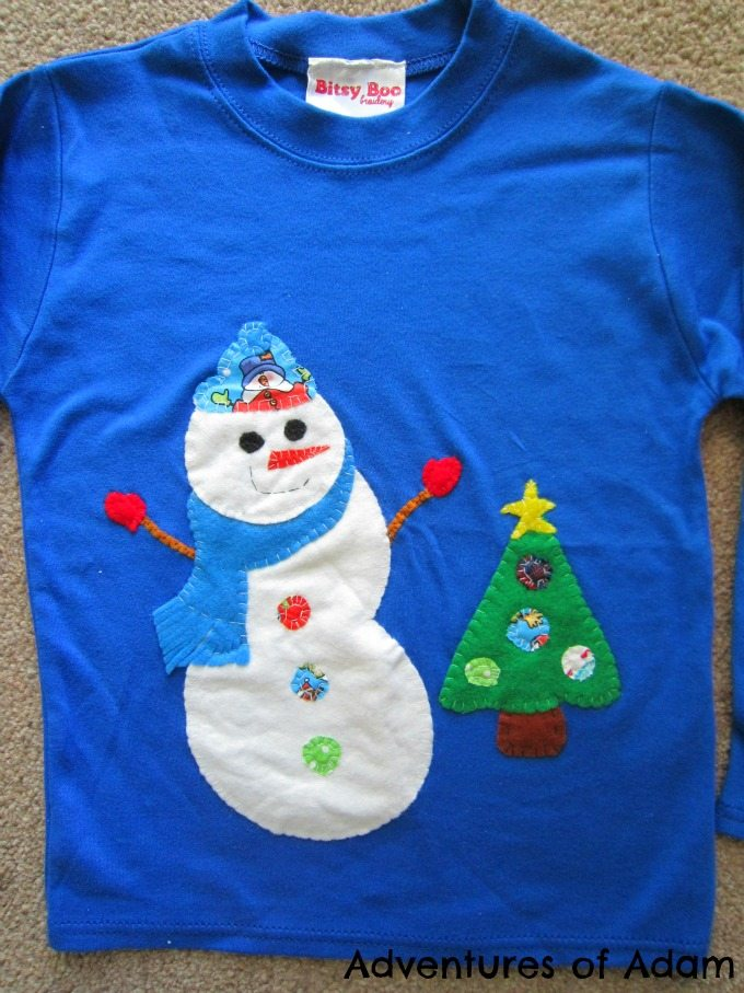 Christmas T-Shirt from Bitsy Boo Broidery