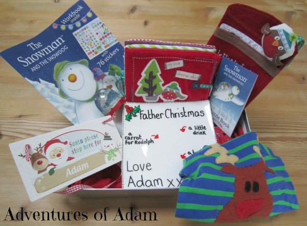 Adventures of Adam DIY Christmas Eve Box