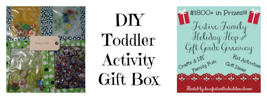 DIY Toddler Activity Gift Box