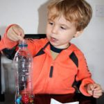 Firework Sensory Bottle from Messy Little Monster
