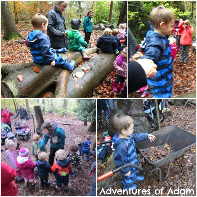 Adventures of Adam How Hill slug Nature Tots