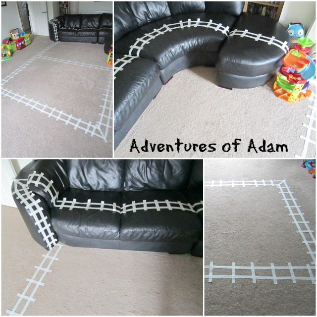 Adventures of Adam How to make a Polar Express train track