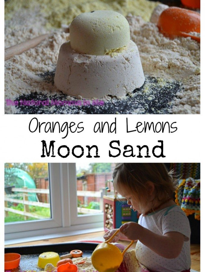 Oranges and lemons moon sand
