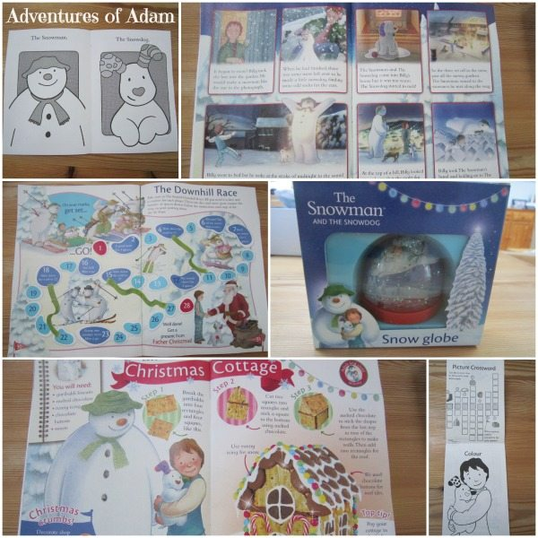 Adventures of Adam The Snowman and Snowdog Magazine