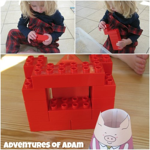 Adventures of Adam How to make a brick house