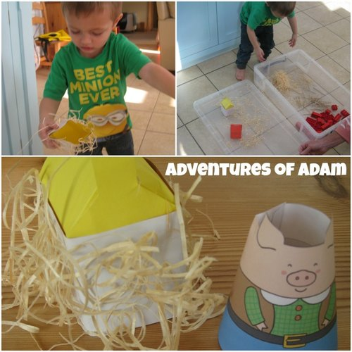 Adventures of Adam How to make a straw house