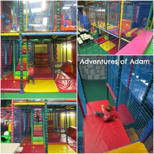 Adventures of Adam Play Stax equipment