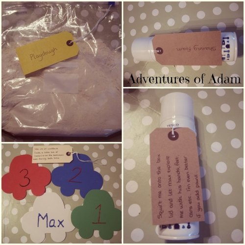Adventures of Adam sensory christmas gift
