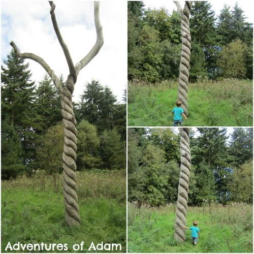 Adventures of Adam Richard Bray Sculpture Bacton Woods