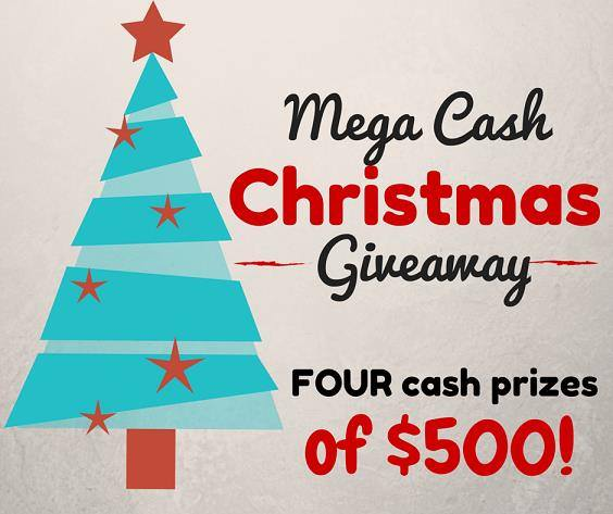 Mega Cash Christmas Giveaway