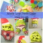 Adventures of Adam Aliens Love Panta Claus Play Dough