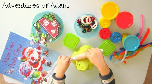Adventures of Adam Aliens Love Panta Claus invitation to play