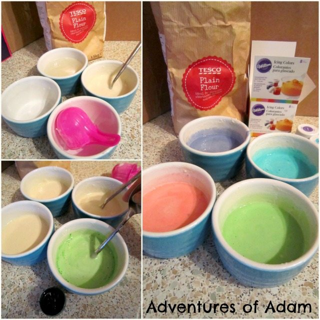 Adventures of Adam How to make baked cotton wool