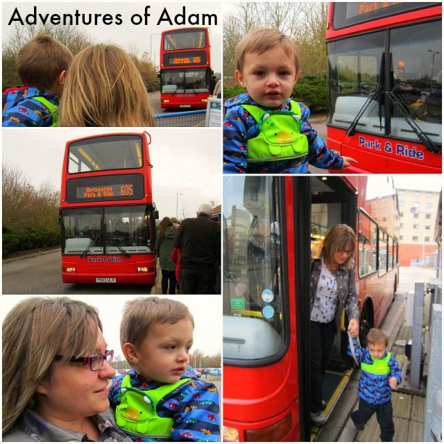 Adventures of Adam Norwich Park and Ride with a toddler