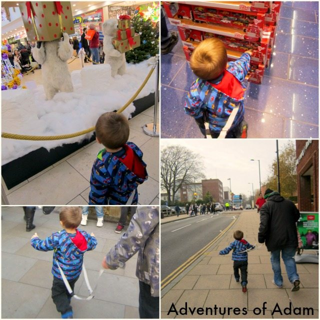 Adventures of Adam Norwich with a toddler