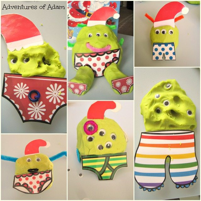 Adventures of Adam playdough Aliens