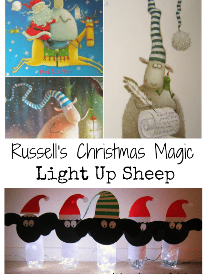 Adventures of Adam Russell's Christmas Magic Light Up Sheep