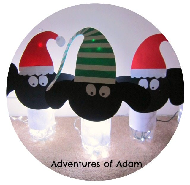 Adventures of Adam Russells Christmas Magic light up sheep
