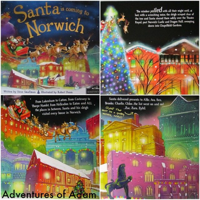 Adventures of Adam Santa is coming to Norwich