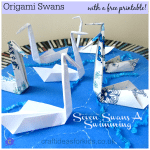 Seven Swans-A-Swimming by Craft Ideas For Kids