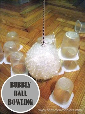 bubble wrap bowling