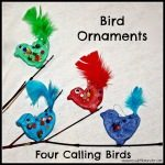 Four Calling Birds by Messy Little Monsters