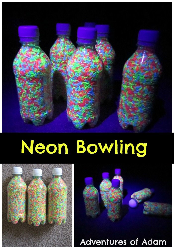 Adventures of Adam Neon Bowling