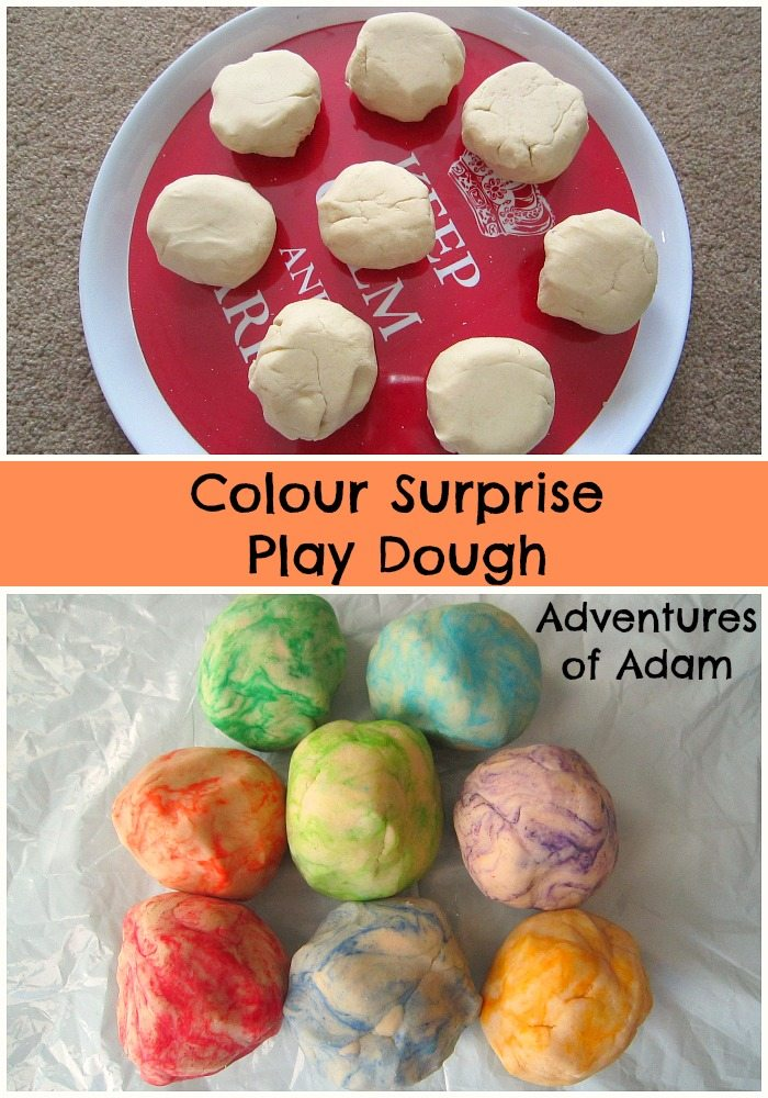 Colour Surprise Play Dough Adventures of Adam