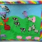 Adventures of Adam Farmyard sensory bag