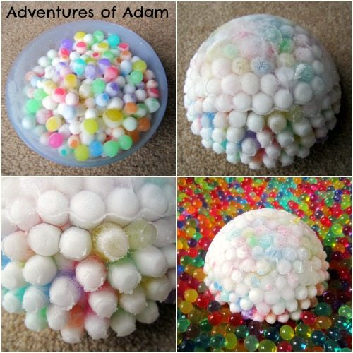 Adventures of Adam Frozen water beads