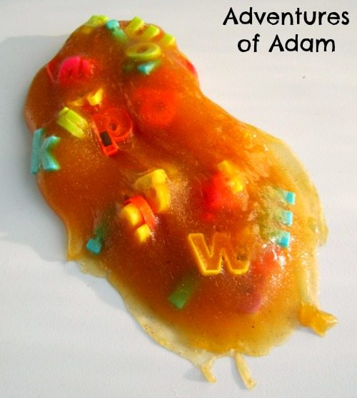 Adventures of Adam Fybogel Alphabet Slime