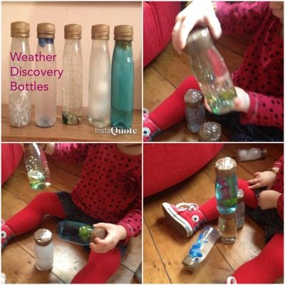 Haley Weather Discovery Bottles